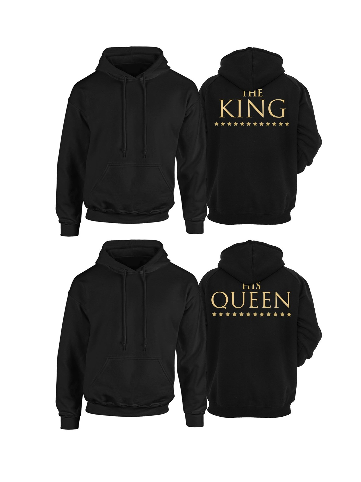 0a87a0d1d Mikiny pre pár Her King His Queen