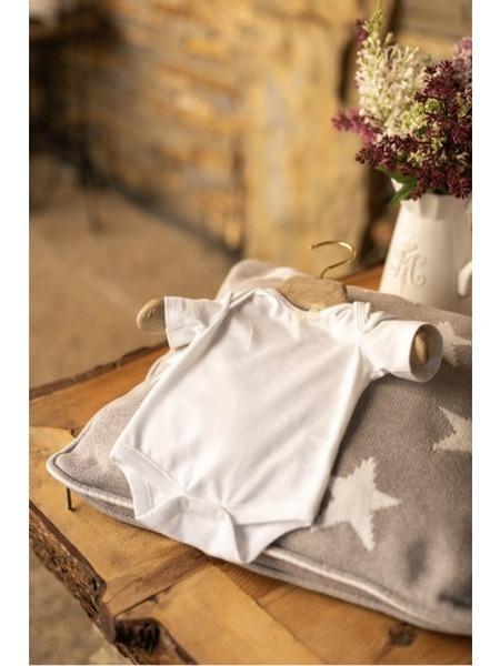 Body z organickej bavlny krátky rukáv