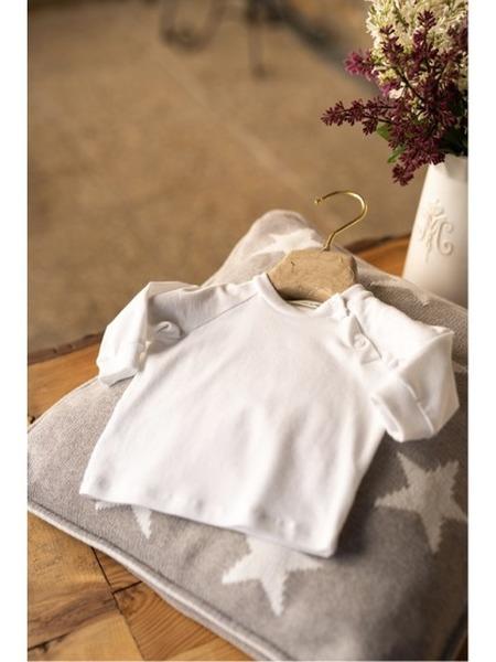 Tričko z organickej bavlny sraglánovým rukávom