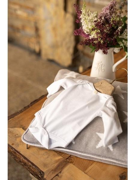 Body z organickej bavlny dlhý rukáv
