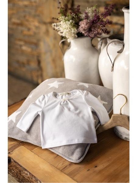 Tričko z organickej bavlny dlhý rukáv