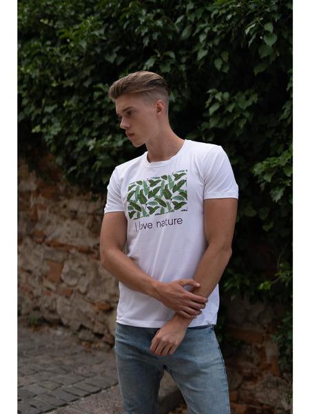 Pánske tričko z organickej bavlny Green Collection 1